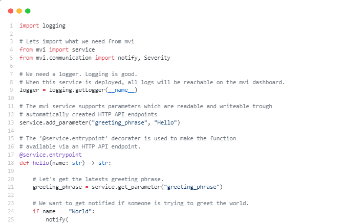 Easy to code - MultiViz Integrator